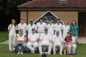 Ashbrittle CC - Division 3 Champions 2015